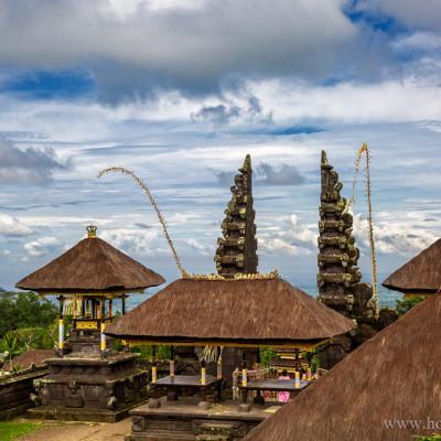 Храм Бесаки в остров Бали, Индонезия - Besakih Temple