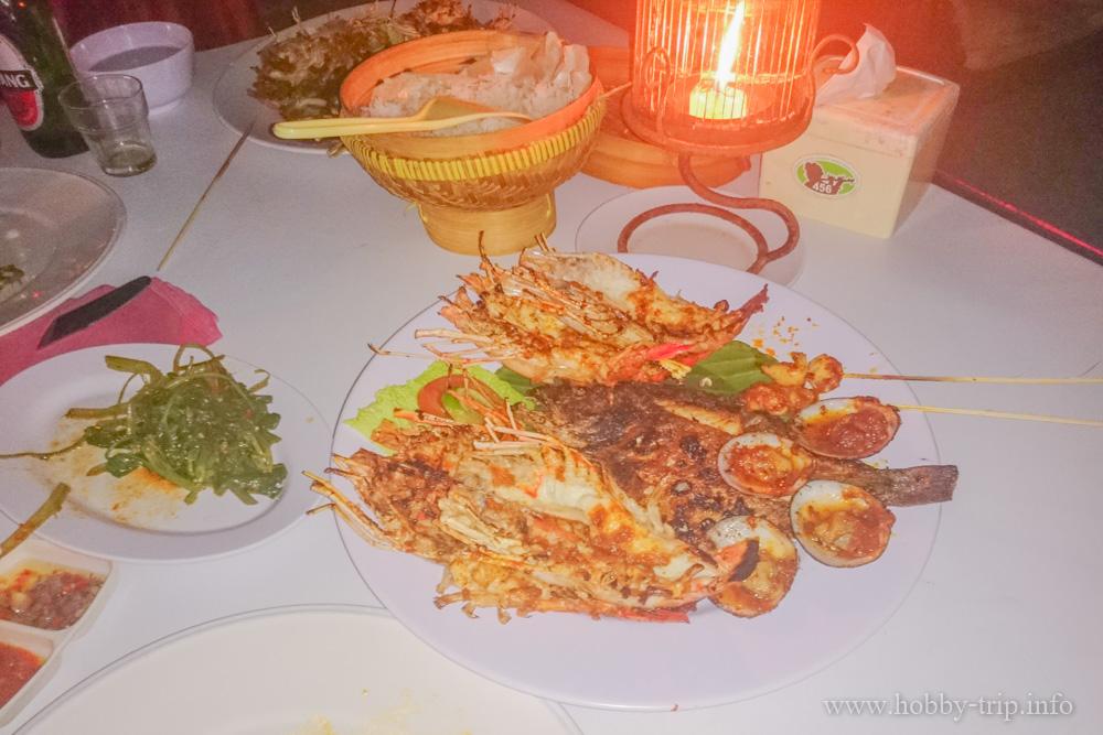 Вечеря на брега на Индийския океан - Jimbaran, Kuta, Бали
