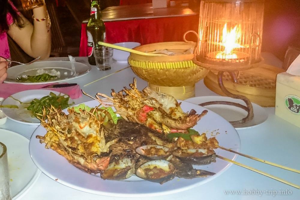 Вечеря на брега на Индийския океан на Jimbaran - Kuta, Бали
