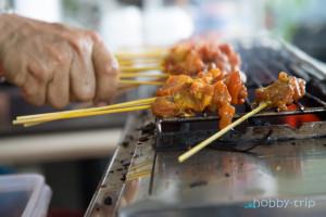 Meal in Kuala Lumpur, Malaisia