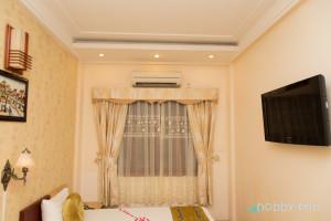 Стаята ни в хостел Hanoi Culture Hostel