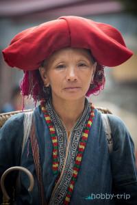 Жена в САПА